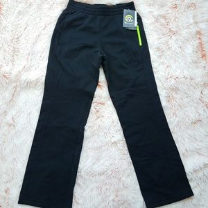 Champion Girl Black Pants Zip Pocket Sz M 8-10